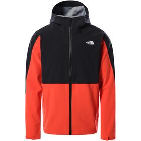 The North Face Apex Flex Dryvent Jacket Men, negro/rojo